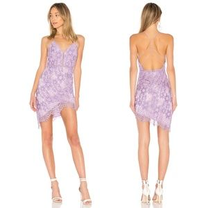 NBD Only Yours Dress in Lilac Size S